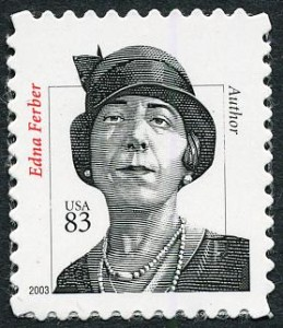 Edna Ferber commemorative stamp.