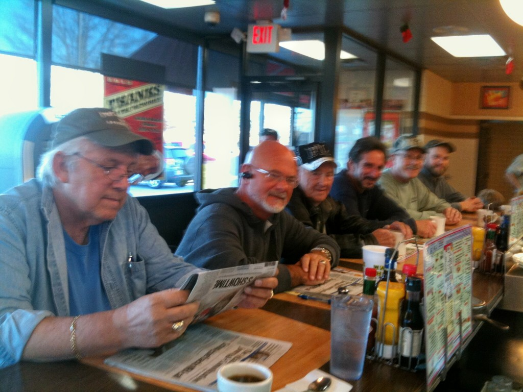 redneck at waffle house