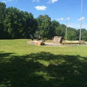 Boy Scout Camp Monument